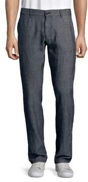 Selected Tonal Straight-Leg Pants