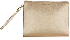 Michael Kors Large Mercer Box Travel Pouch - GOLD - STYLE
