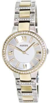 Fossil Women's ES3503 Virginia Stainless Steel Watch, 34mm