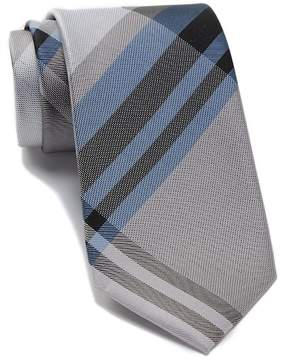 Kenneth Cole Reaction Dune Plaid Silk Tie