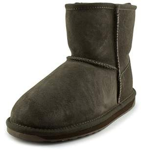 Emu Stinger Mini Round Toe Suede Winter Boot.