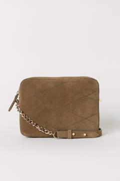 H&M Suede Shoulder Bag - Brown