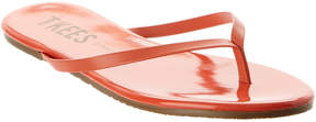 TKEES Lipglosses Leather Flip Flop