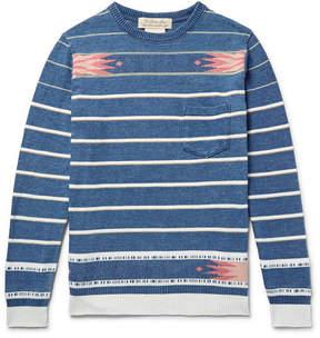 Remi Relief Cotton-Jacquard Sweater