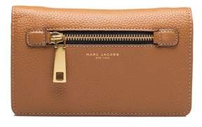 Marc Jacobs Women's Leather ¿gotham¿ Cross Body Clutch Brown. - BROWN - STYLE