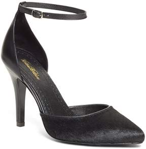 Brooks Brothers Haircalf Pumps with Ankle Strap