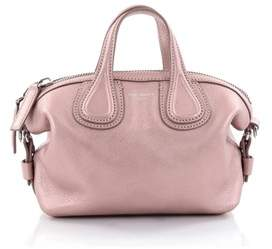 Givenchy Pre-owned: Nightingale Satchel Waxed Leather Mini.