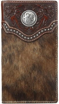 Ariat Calf Hair Concho Rodeo Wallet Wallet