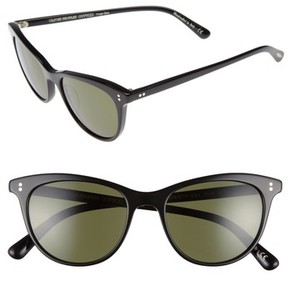 Oliver Peoples Women's Jardinette 52Mm Cat Eye Sunglasses - Black