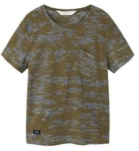 MANGO Camo-print t-shirt