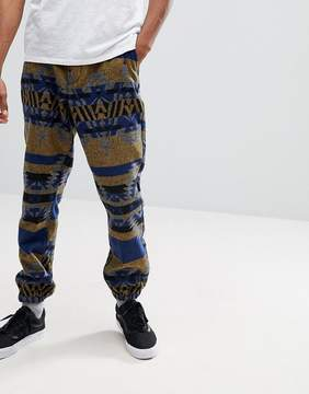 Asos Tapered Joggers Co-ord In Heavyweight Geo-Tribal Print