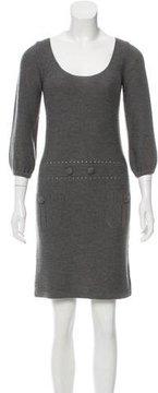 Cacharel Merino Wool Sweater Dress