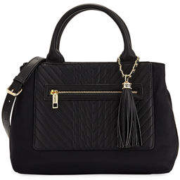 Karl Lagerfeld Paris Misto Nylon Satchel Bag