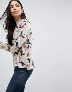 B.young Floral Printed Blouse