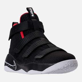 Nike Boys' Preschool LeBron Soldier 11 Basketball Shoes