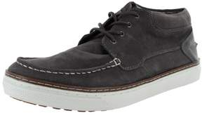 Steve Madden Mens P-Garyy Casual Moc Toe Fashion Sneaker, Grey Suede, US 12
