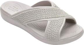 Crocs Sloane Embellished X Strap Slide Sandal (Women's)