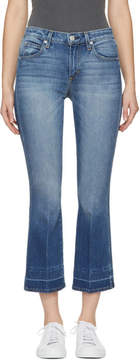 Amo Blue Jane Cropped Flare Jeans