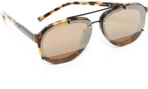 3.1 Phillip Lim Mirrored Aviator Sunglasses