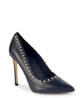 Pour La Victoire Cerella Leather Pumps