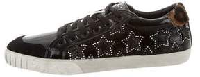 Ash Patent Leather Low-Top Sneakers w/ Tags