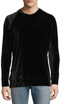 Ovadia & Sons Dex Velvet Sweatshirt