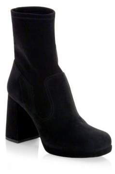 Marc Jacobs Ross Stretch Leather Booties
