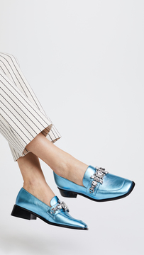Marc Jacobs Tilde Embellished Loafers