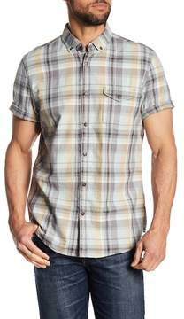 Jeremiah Cecil Herringbone Plaid Shirt