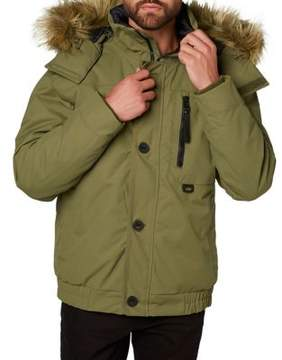 Helly Hansen Bardu Faux-Fur Trimmed Bomber Jacket