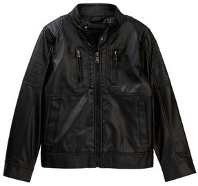 Urban Republic Quilted Moto Jacket (Toddler Boys)