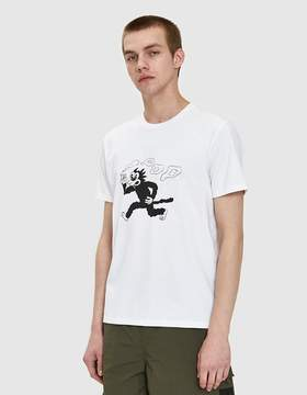 Co Pop Trading Malvin The Cat T-Shirt in White