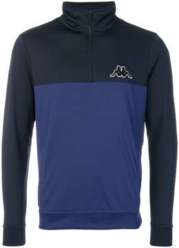 Kappa zip neck sweatshirt