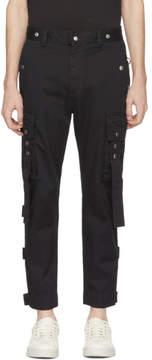Diesel Black P-Luise Cargo Pants
