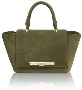 Amanda Wakeley Mini Newman Khaki Bag