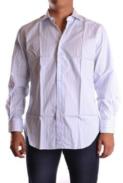 Ermanno Scervino Men's White Cotton Shirt.