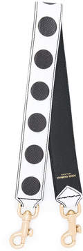 Dolce & Gabbana polka dot bag strap - WHITE - STYLE
