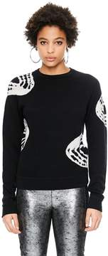 Veda Swirl Sweater Ink Tie Dye
