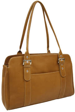 Piel Women's Leather Ladies Buckle Business Tote 2742