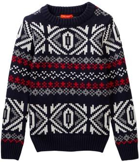 Joe Fresh Fair Isle Pullover Sweater (Little Boys & Big Boys)