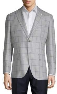 Lubiam Window Wool & Silk Sportcoat