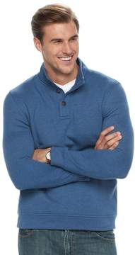 Croft & Barrow Big & Tall Classic-Fit Easy-Care Fleece Mockneck Pullover