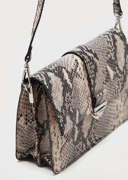 Violeta BY MANGO Snakeskin effect bag