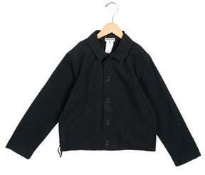 Sonia Rykiel Girls' Lightweight Button-Up Jacket