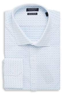 Tailorbyrd Line Cotton Dress Shirt