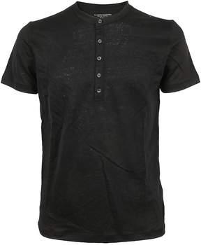 Majestic Filatures Button Detail T-shirt