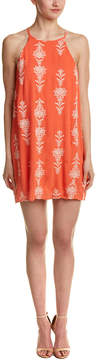 Dee Elly Dee Elle Embroidered Shift Dress