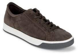 To Boot Falkner Lace-Up Suede Sneakers