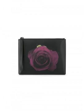 Christopher Kane Rose motif clutch