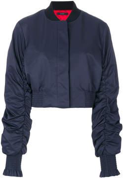 Ellery cropped bomber jacket